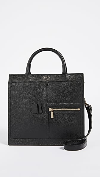 OAD Mini Kit Zip Satchel - Black