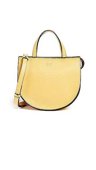 OAD Mini Top Handle Saddle Bag In Lemon Yellow
