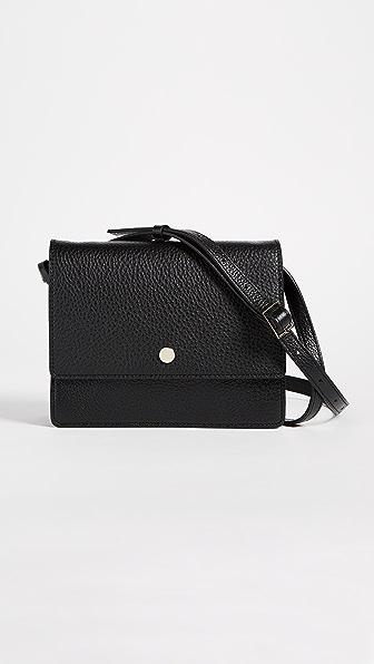OAD Mini Messenger Cross Body Bag - Black