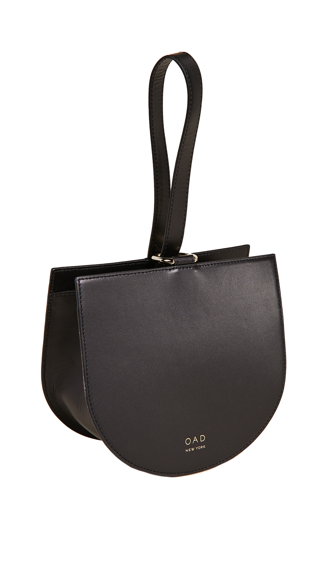 OAD Dome Wristlet Bag in Black