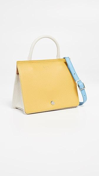 Oad Bags Mini Prism Colorblock Satchel