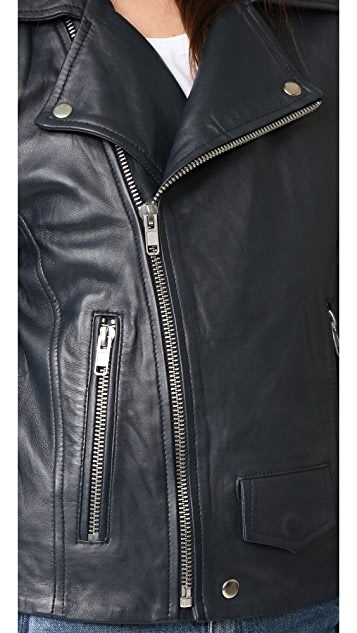 Oak LA Rebel Leather Jacket