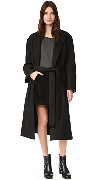Oak Belted Overcoat