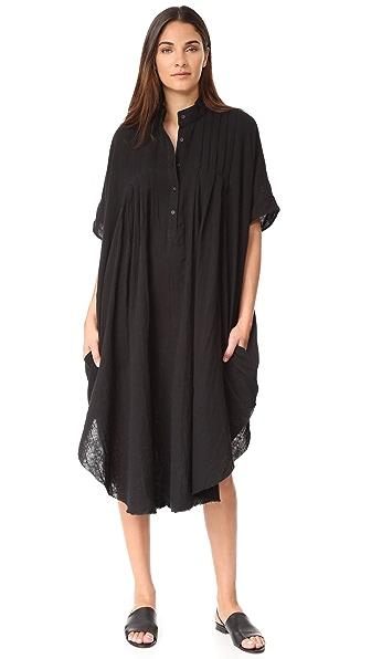 Oak Миди-платье с защипами