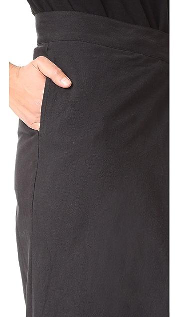 Oak Pleat Leg Pants