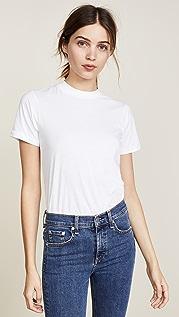 Oak Облегающая футболка с округлым вырезом