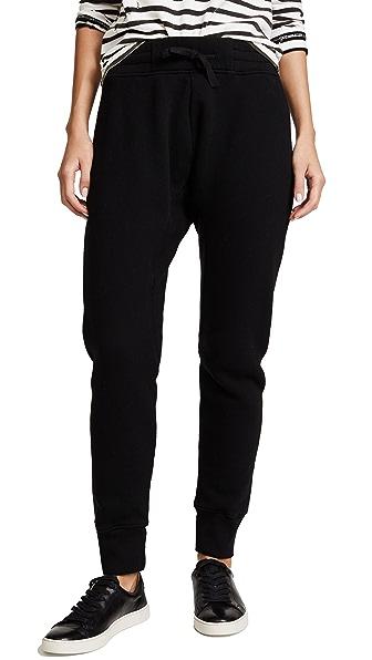 Oak Slim Sweatpants In Black