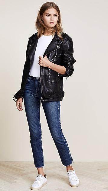 Oak LA Roamer Leather Jacket