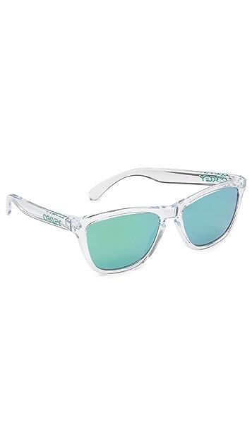 Oakley Frogskins Crystal Sunglasses