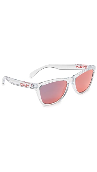 Oakley Frogskins Crystal Sunglasses
