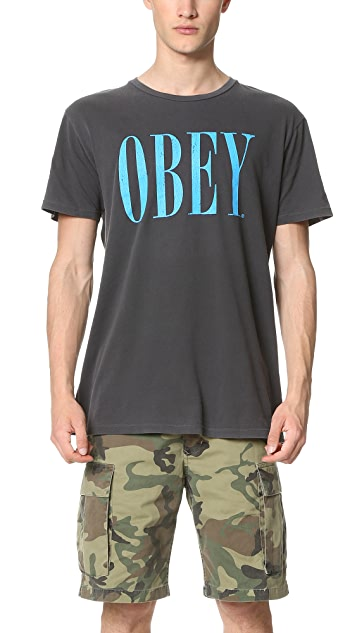 Obey Old Times Tee