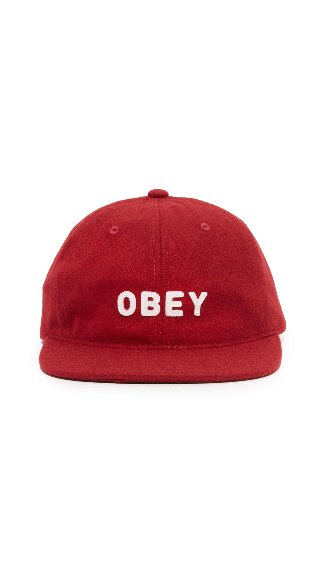 143452de07a Obey Afton 6 Panel Hat