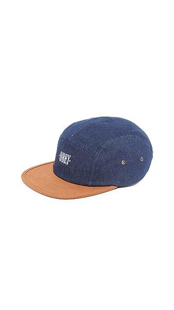 Obey Deschutes 5 Panel Hat