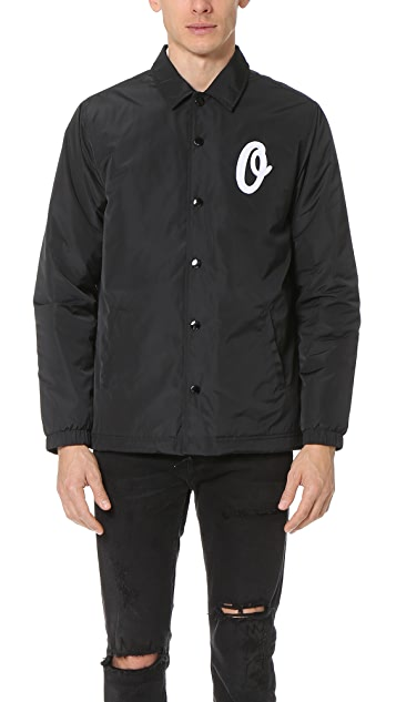 Obey Sanders Coach Jacket