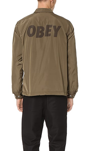 Obey Baker Graphic Jacket