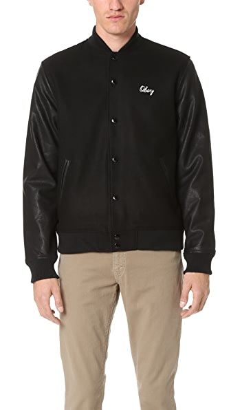Obey Soto Collegiate Jacket