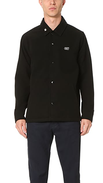 Obey Lurker Coach Jacket