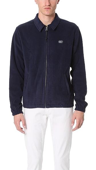Obey Lafayette Fleece Jacket