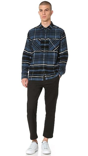 Obey Patterson Woven Shirt