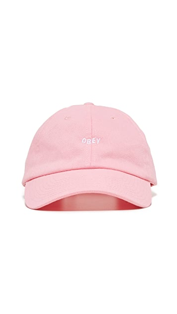 Obey Jumble Bar 6 Panel Hat