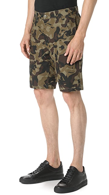 Obey Lagger Patch Pocket Shorts