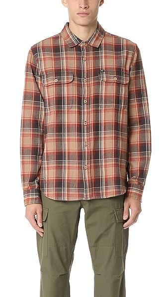 Obey Marvyn Woven Flannel Shirt