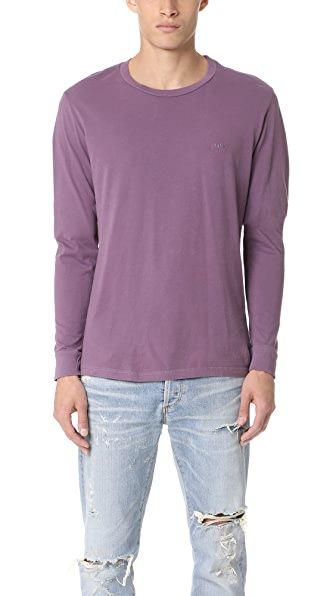 Obey Jumbled Pigment Long Sleeve Tee