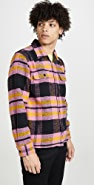 Obey Fitzgerald Heavy Plaid Overshirt
