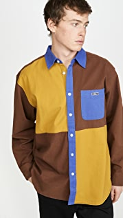 Obey Luger Heavy Twill Colorblock Shirt