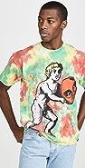 Obey Heavyweight Blotch Tie Dye T-Shirt