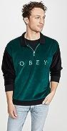 Obey Avenue Zip Polo