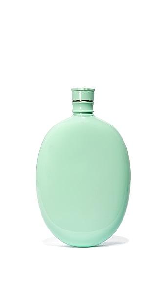 Odeme Oval Flask In Aqua