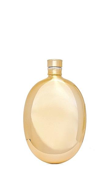 Odeme Oval Flask