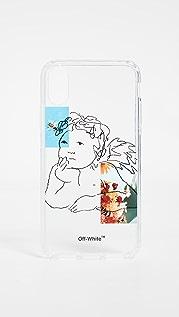 Off-White 天使 iPhone X 手机壳