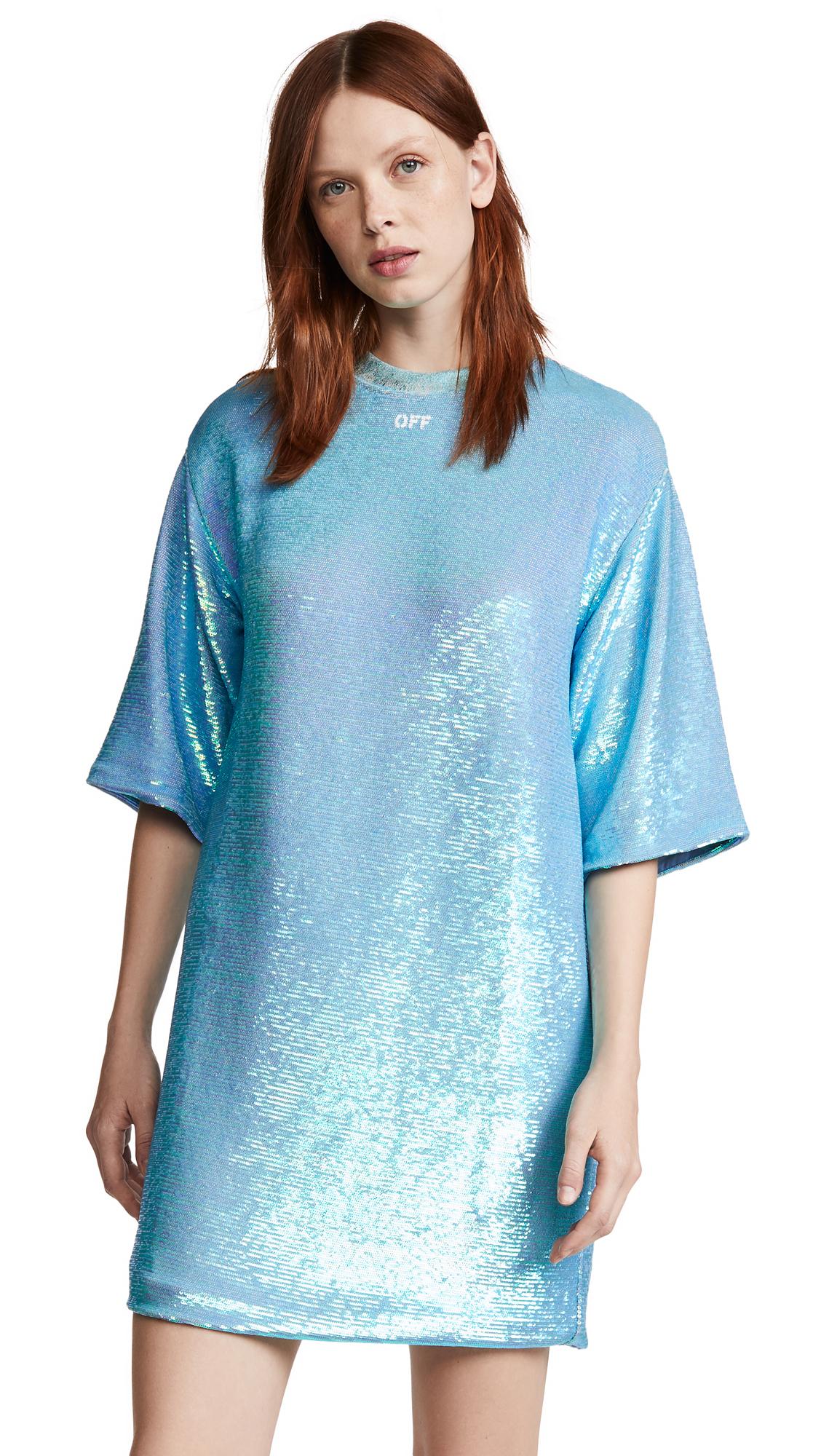 Off-White Paillettes Sequin Dress - 50% Off Sale