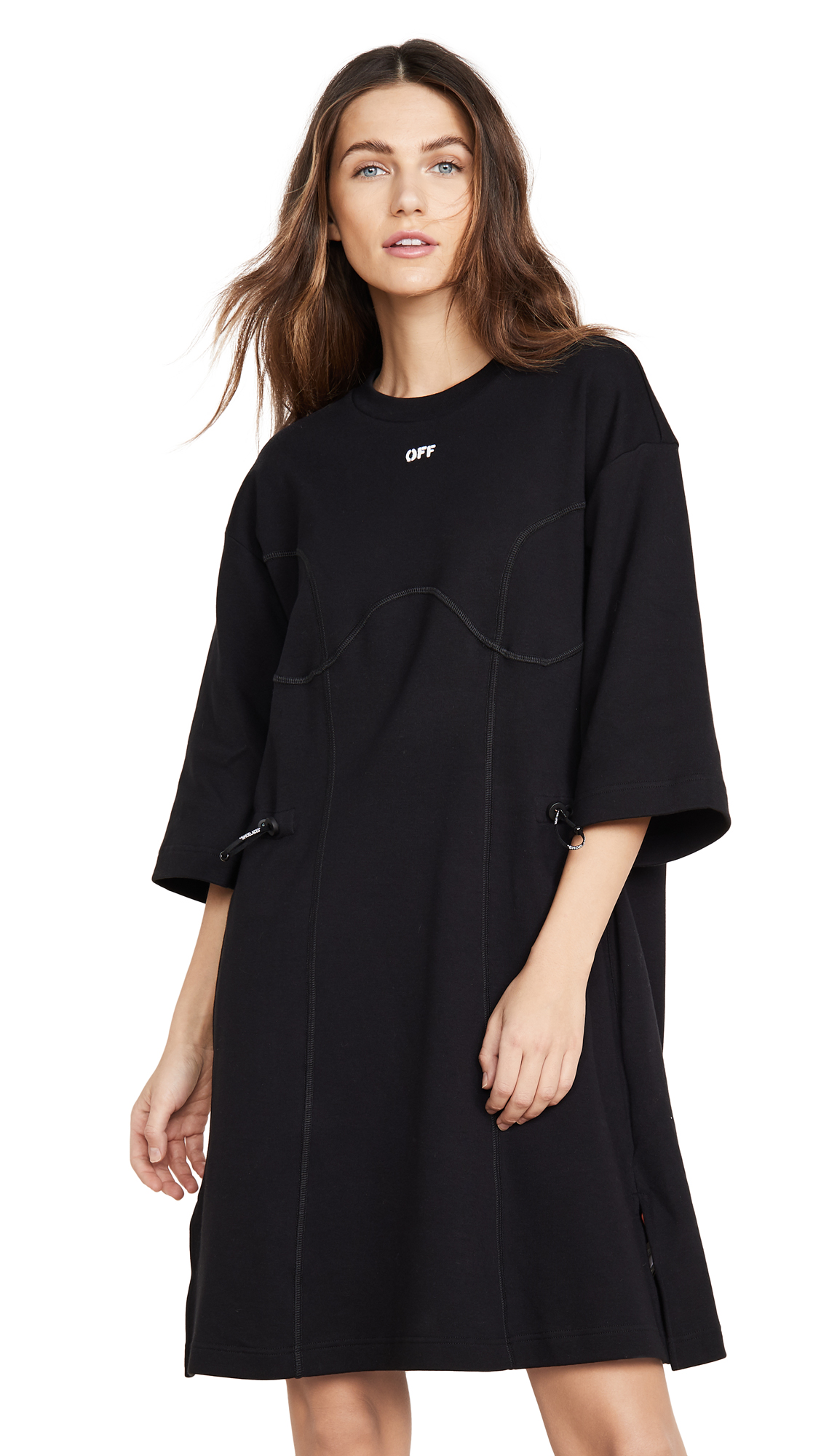 Buy Off-White Coulisse T-Shirt Dress online beautiful Off-White Clothing, Dresses