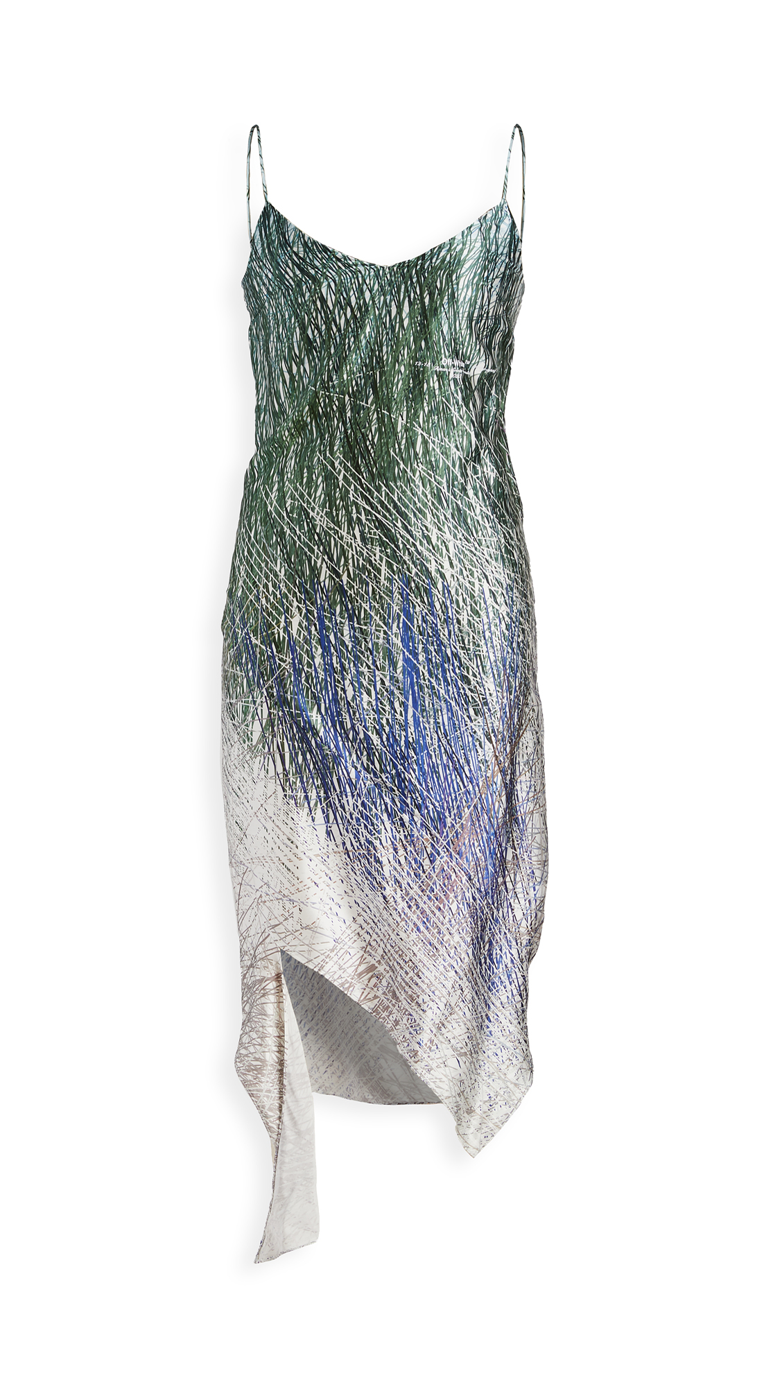 Off-White Bouroullec Spiral Slip Dress - 30% Off Sale