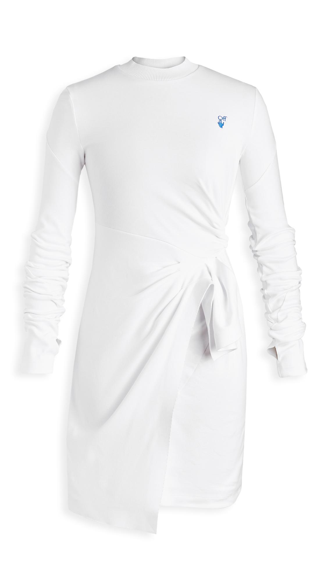 Off-White Mariacarla Wrap Dress - 50% Off Sale