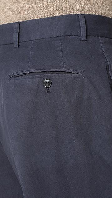 Officine Generale French Pleat Pants