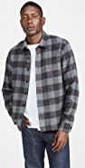 Officine Generale Sol Plaid Overshirt