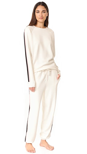 Olivia von Halle Missy Moscow Tracksuit - Ivory