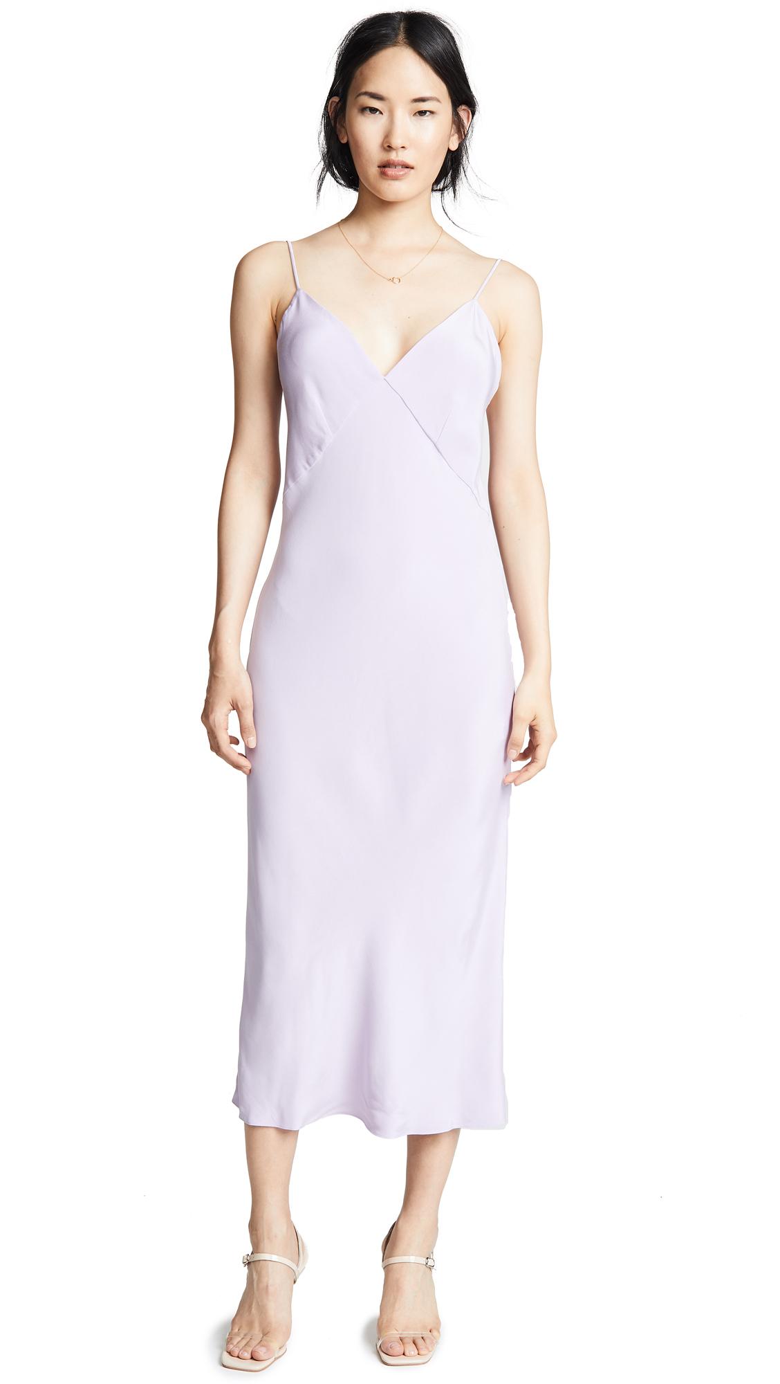 5bdf84248a Olivia Von Halle Issa Marocain Nightdress In Orchid