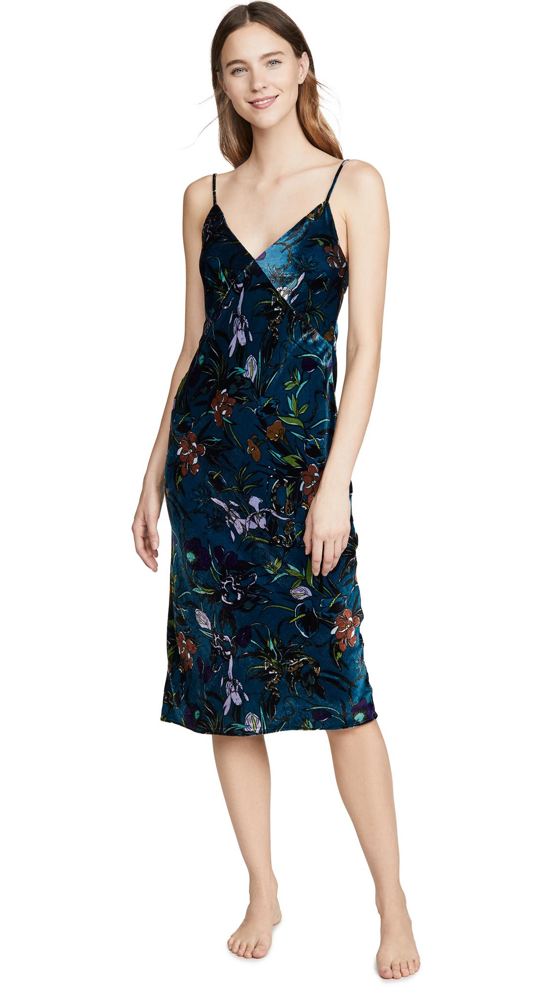 Buy Olivia von Halle online - photo of Olivia von Halle Issa Velvet Dress