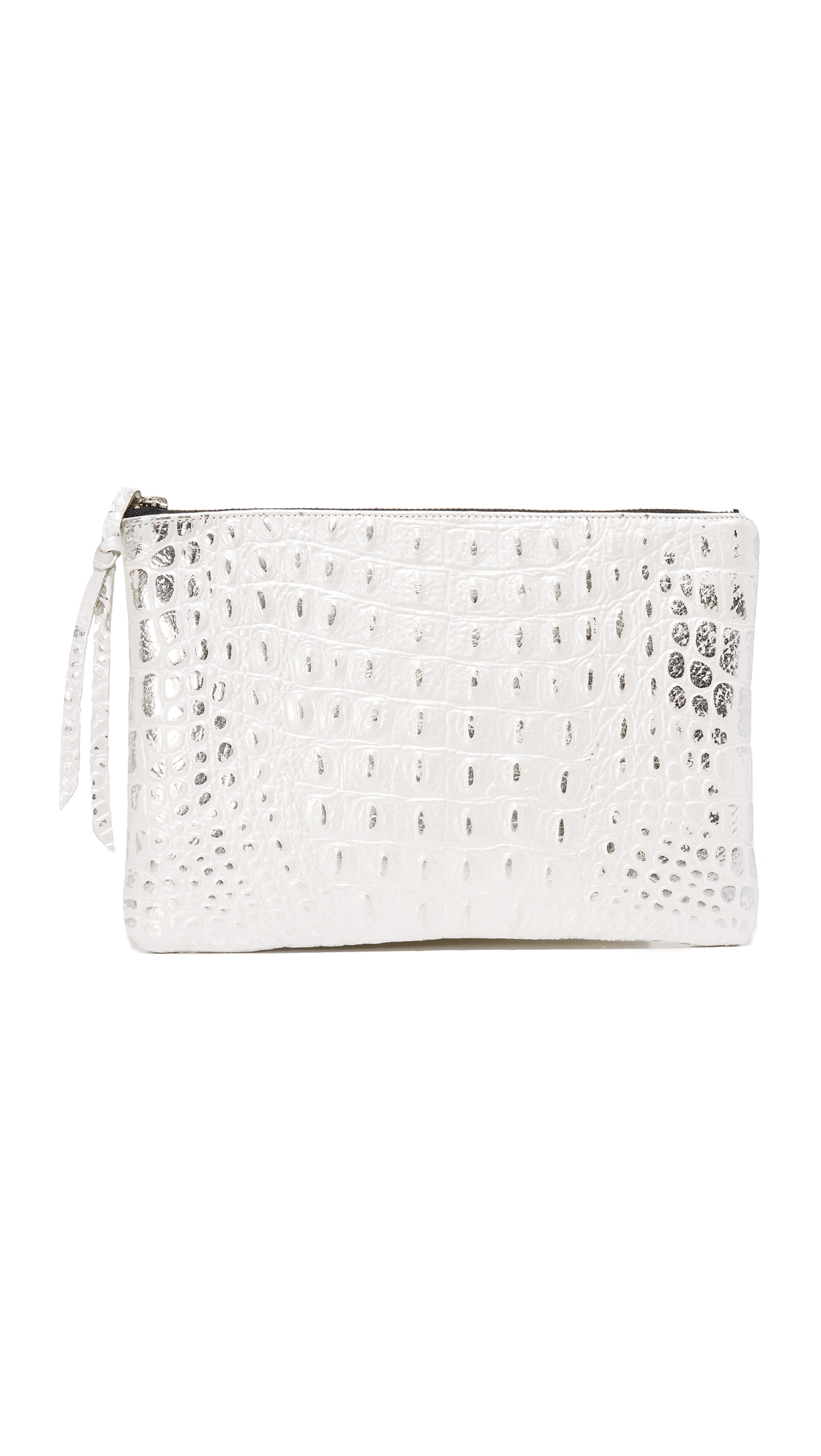 oliveve female oliveve hornback queenie clutch whitesilver