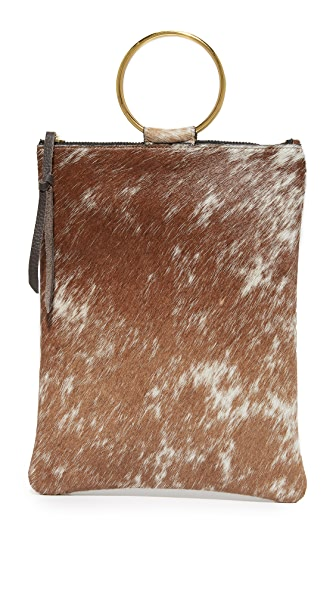 Oliveve Laine Ring Bag - Brown Natural