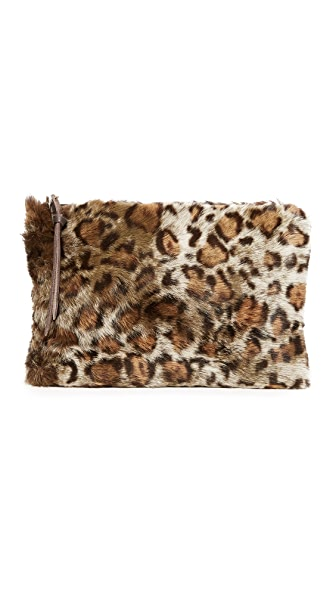 Oliveve Queenie Clutch - Leopard