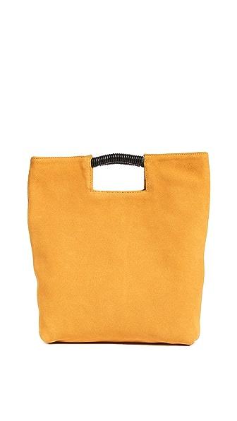 Oliveve Reid Wrapped Handle Bag In Golden Tau