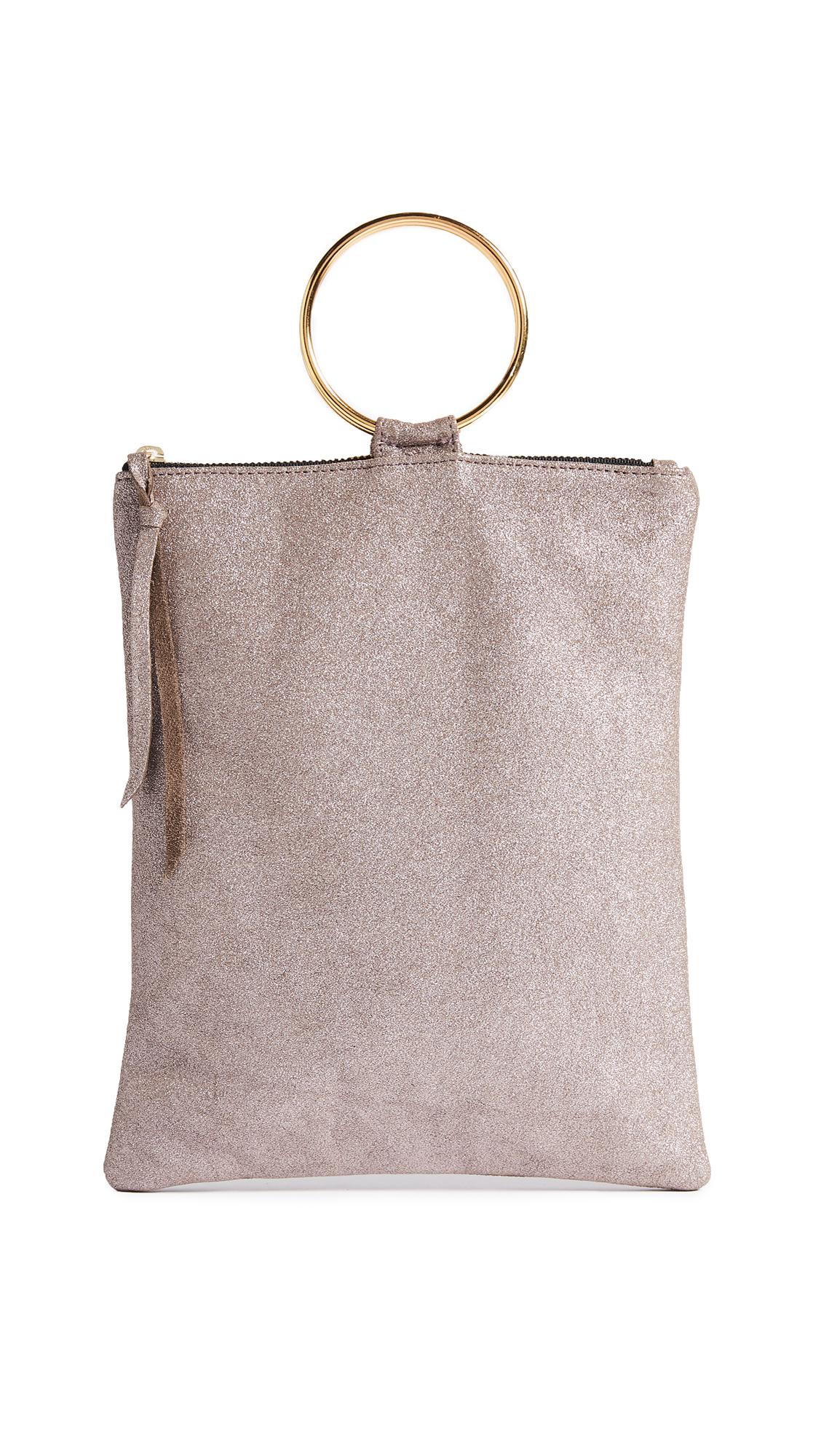 Oliveve Laine Ring Bag - Rose Shimmer