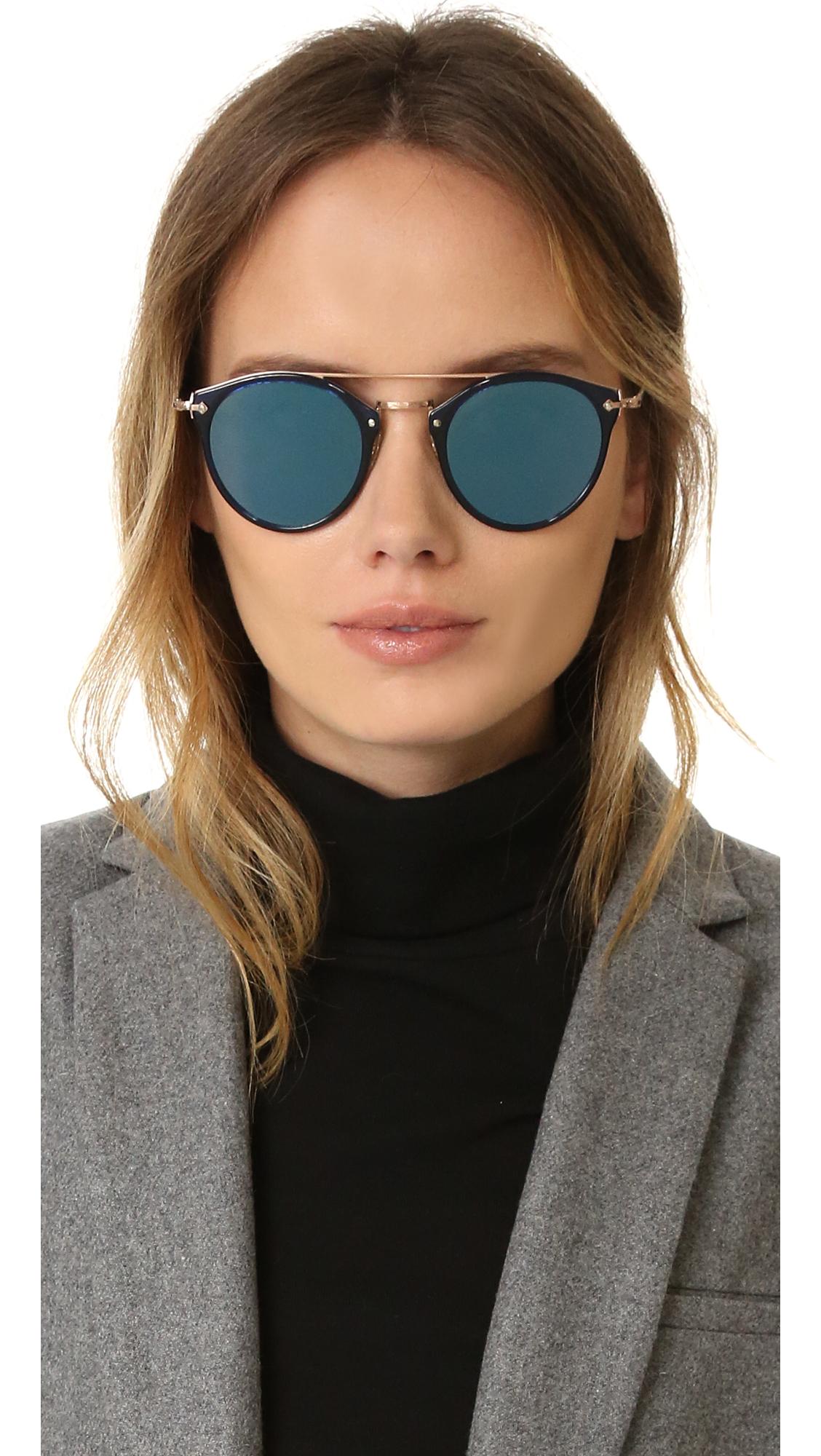 4b84bc842e Oliver Peoples Eyewear Remick Sunglasses