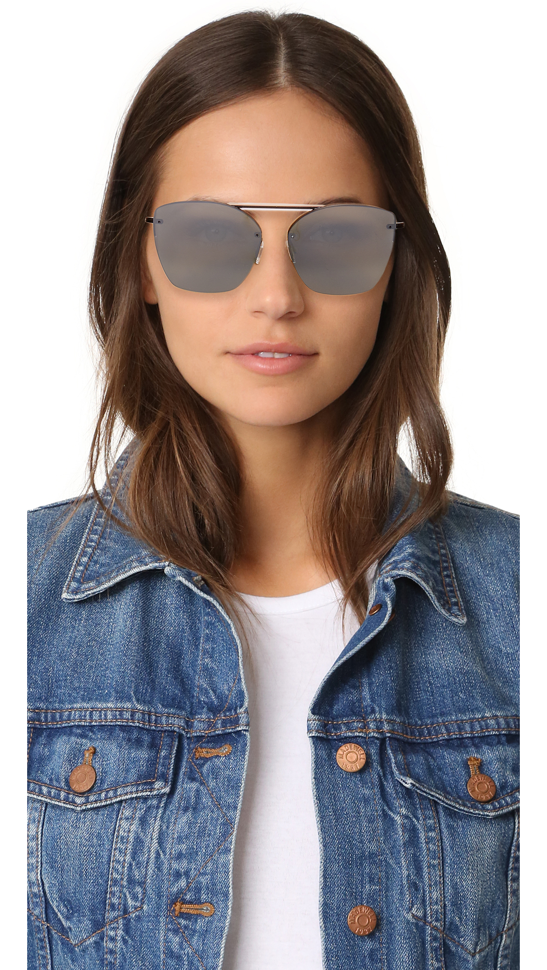 5f7a3f3590c Oliver Peoples Eyewear 30th Anniversary Zaine Mirrored Sunglasses ...